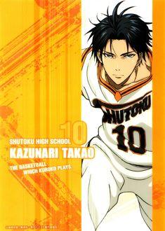 Фото Kazunari Takao из аниме Kuroko no Basuke / Баскетбол Куроко