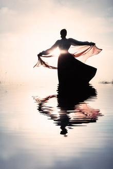 Фото Девушка на воде, by Magdalena Russocka