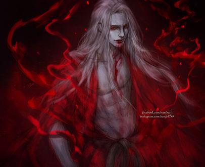 Фото Белокурый вампир, by NanFe