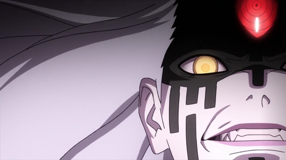 Фото Презренный взгляд Оуцуцуки Мамашики / Outsusuki Mamashiki из аниме Боруто: новое поколение Наруто / Boruto: Naruto next generation