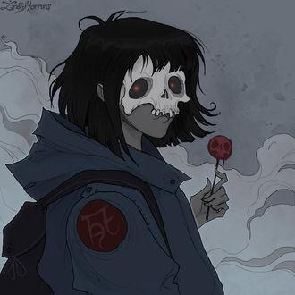 Фото Девочка смерть, by IrenHorrors