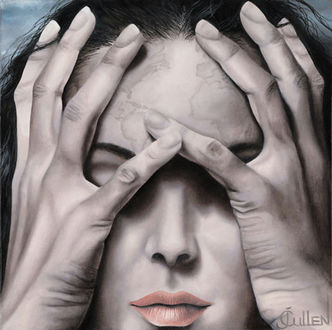 Фото Девушка закрыла лицо руками, bу Johanne Cullen
