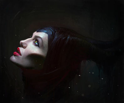 Фото Актриса Анджелина Джоли / Angelina Jolie в роли Малефисенты / Maleficent, в одноименном фильме Малефисента / Maleficent