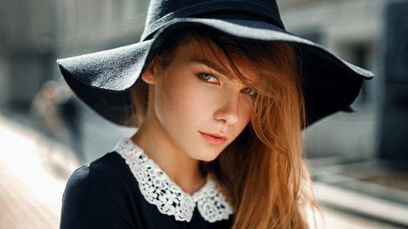 Фото Модель Ирина в шляпе. Фотограф Georgy Chernyadyev