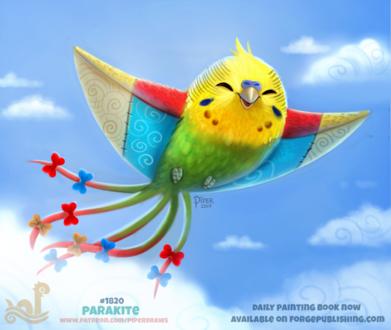 Фото Попугай-змей в небе, by Cryptid-Creations