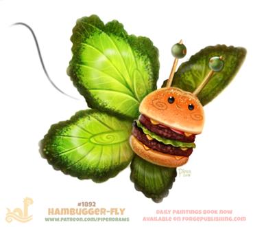Фото Гамбургер-бабочка, by Cryptid-Creations