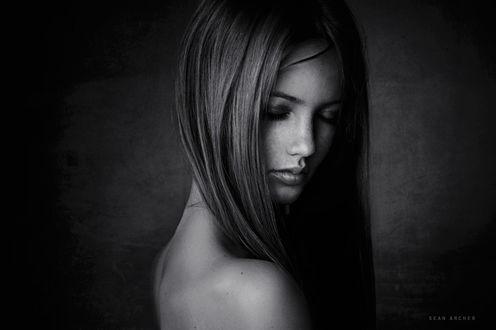 Фото Модель Надя с закрытыми глазами, фотограф Sean Archer
