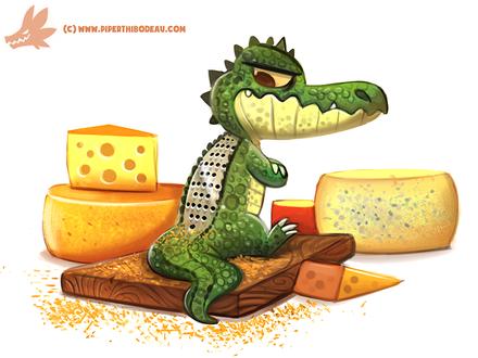 Фото Крокодил-терка для сыра, by Cryptid-Creations