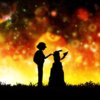 Фото Ash Ketchum / Эш Кетчум и Pikachu / Пикачу из аниме Pokemon / Покемон, by HaradaMiyuki