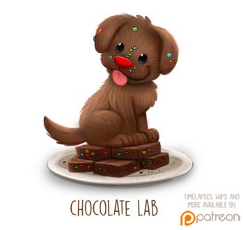 Фото Шоколадный пес, by Cryptid-Creations