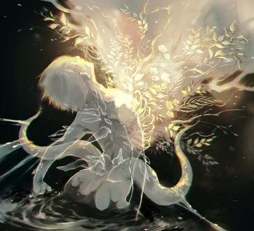 Фото Ken Kaneki / Кен Канеки из аниме Tokyo Ghoul / Токийский Гуль