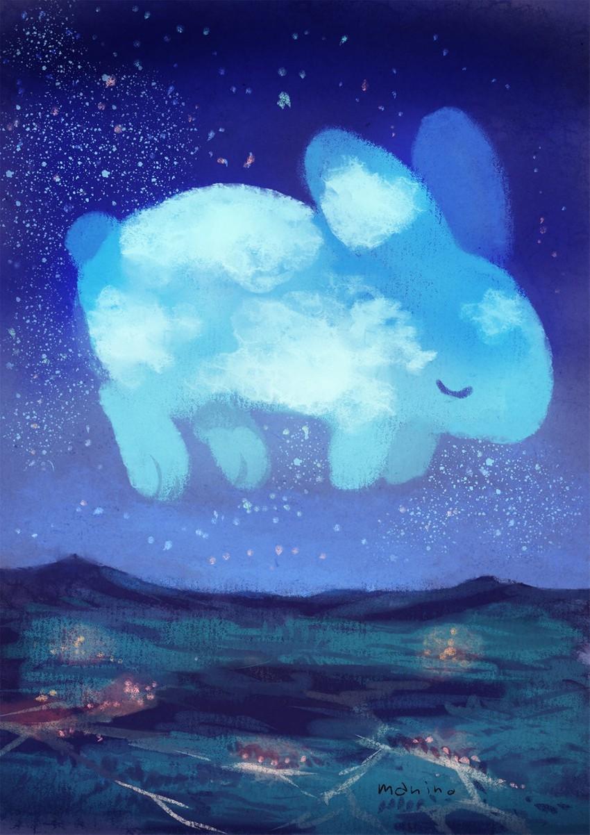животные похожи на облака картинки кенни комнате его