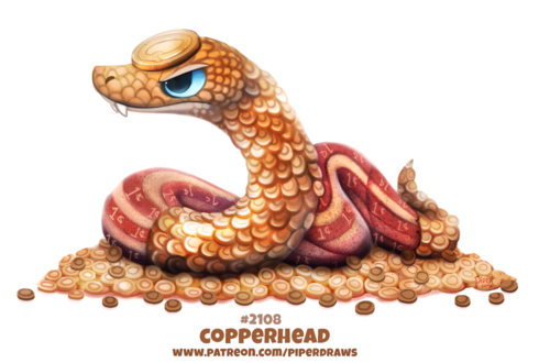 Фото Золотая змея из монет, by Cryptid-Creations