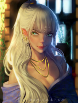 Фото Девушка - блондинка с длинными волосами, by cosmogirll