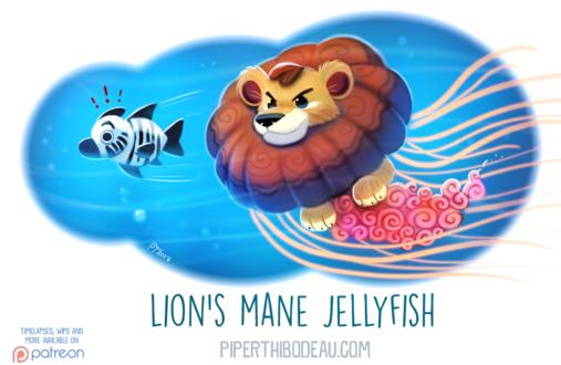 Фото Морской лев охотиться за морской зеброй, by Cryptid-Creations