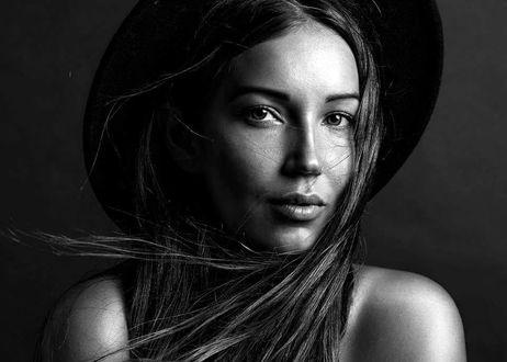 Фото Модель Мари в шляпе, фотограф Alex Darash