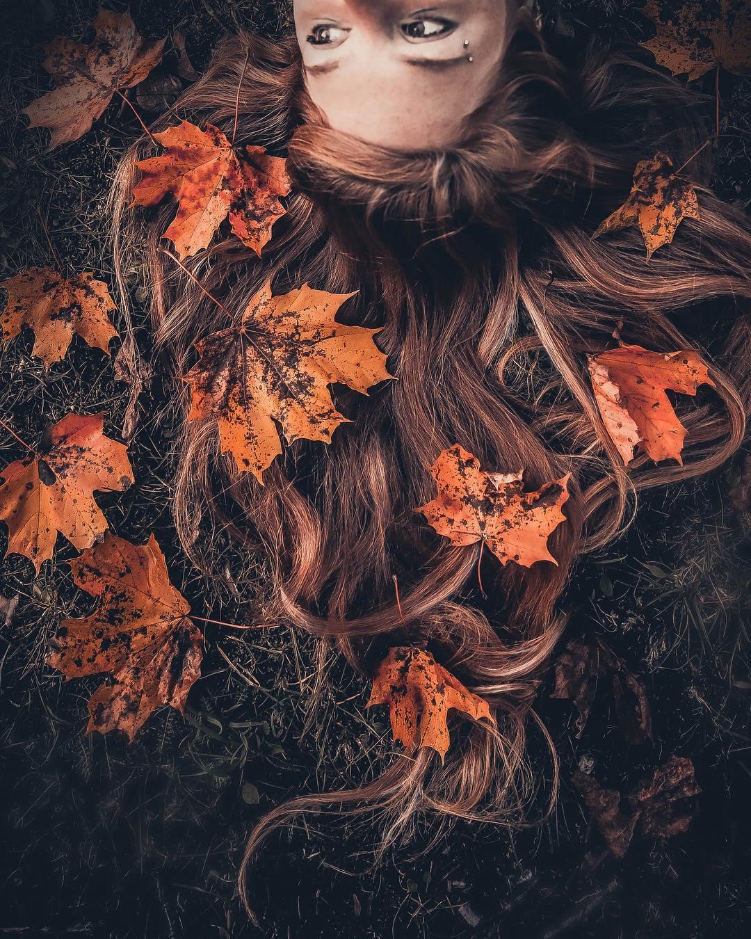 картинки листья в волосах старики лезут знакомиться