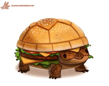 Фото Черепаха-гамбургер, by Cryptid-Creations