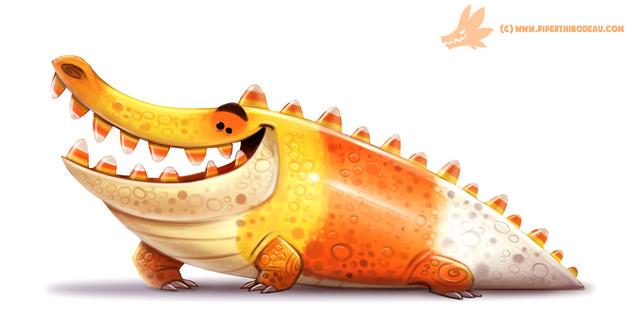 Фото Трехцветный крокодил, by Cryptid-Creations