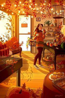 Фото Девушка занимается покупками, художница Yaoyao Ma Van As