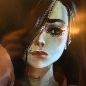 Фото Девушка с грустным выражением лица, by Yana Bogatch