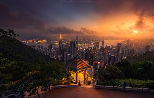Фото Вид на ночной город, by CoolbieRe