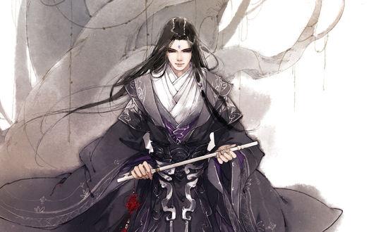 Фото Персонаж из китайского аниме Mo Dao Zu Shi / Магистр дьявольского культа, by Ibuki Satsuki