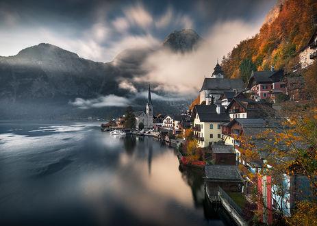 Фото Hallstatt, Alps, Austria / Хальштатт, Альпы, Австрия, Фотограф Karol Nienartowicz
