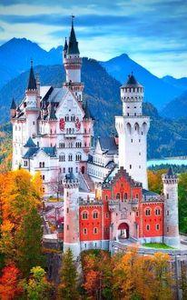Фото Neuschwanstein Castle / Замок Нойшванштайн, Германия / Germany