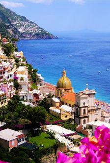 Фото Amalfi Coast Italy / Побережье Амальфи Италия