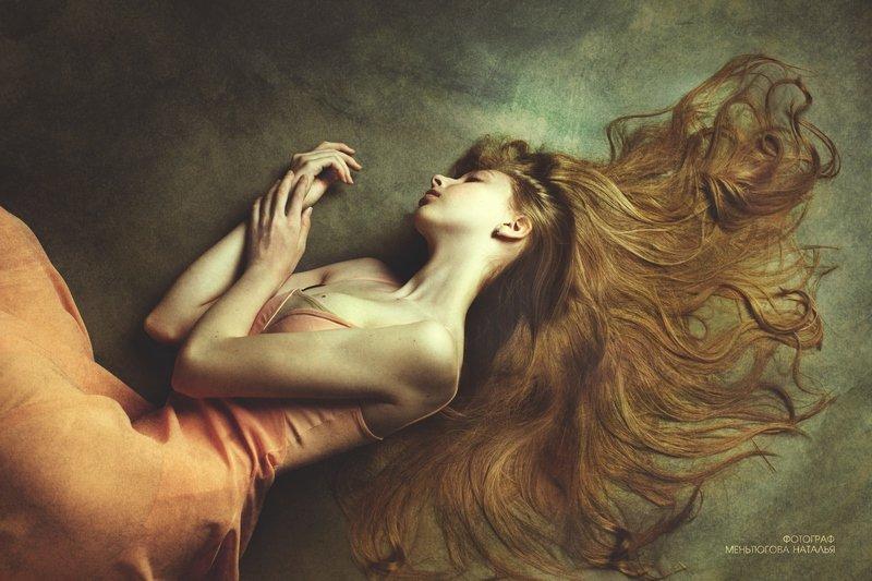 Фото Девушка с длинными волосами. Фотограф Меньтюгова Наталья