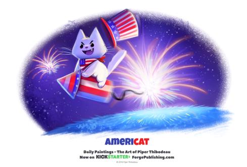 Фото Белый кот в костюме на предмете в виде ракеты с фитилем, by Cryptid-Creations