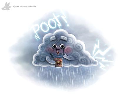 Фото Тучка ест фасоль из банки (Poof!) by Cryptid-Creations