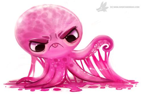 Фото Розовый и липкий осьминожек, by Cryptid-Creations