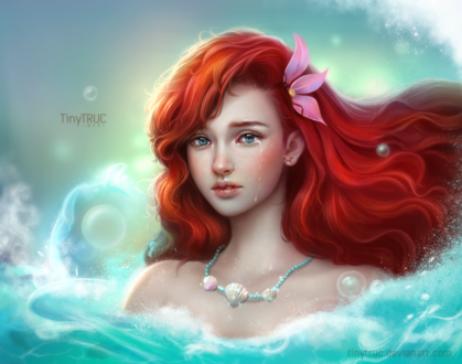Фото Ariel - The little mermaid / Ариэль - маленькая русалка, by TinyTruc on DeviantArt