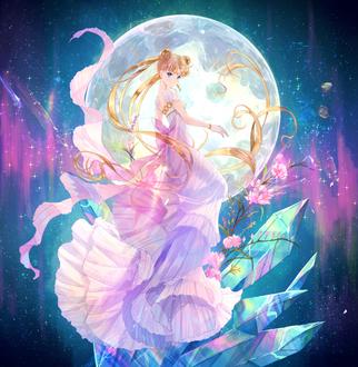 Фото Sailor Moon / Сейлор Мун, Usagi Tsukino / Усаги Цукино из аниме Красавица-воин Сейлор Мун / Bishoujo Senshi Sailor Moon, by Ponchiux