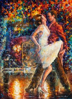 Фото Парень с девушкой в танце, by Leonid Afremov