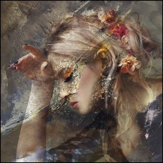 Фото Девушка с цветами в волосах. Фотограф Kemal Kamil Akca