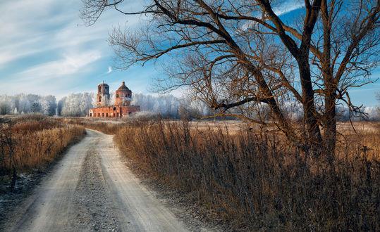 Фото Дорога к церкви Казанской иконы Божией Матери. Фотограф Нeger -Роман
