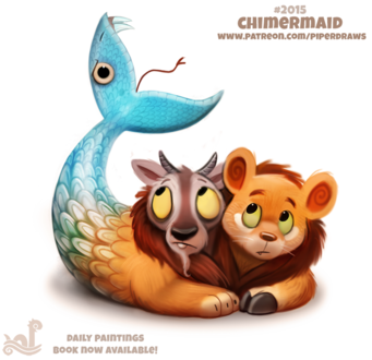Фото Фантастическое животное (Chimermaid), by Cryptid-Creations