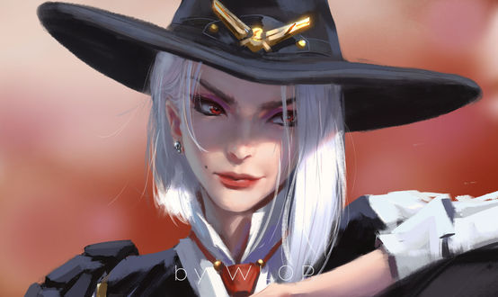 Фото Ashe / Эш из игры League of Legends / Лига Легенд, by WLOP