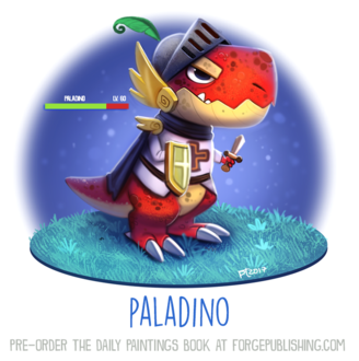 Фото Динозаврик рыцарь в игре (Paladino), by Cryptid-Creations