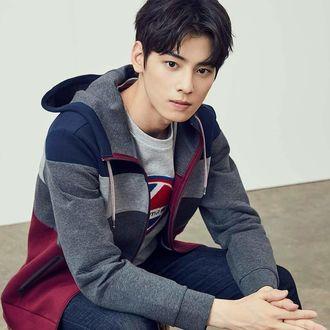 Фото Певец, модель и актер Cha Eun Woo / Ча Ын У участник k-pop группы Astro, Южная Корея