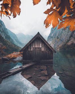 Фото Деревянный домик на воде, by _marcelsiebert
