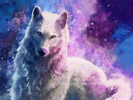 Сексуальная анимация волка