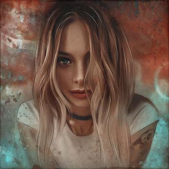 Фото Девушка с длинными волосами. Фотограф Асиялов Абубакар