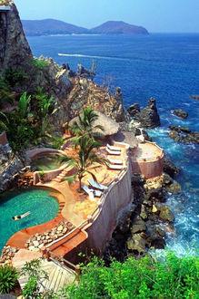 Фото Курорт на побережье Мексики