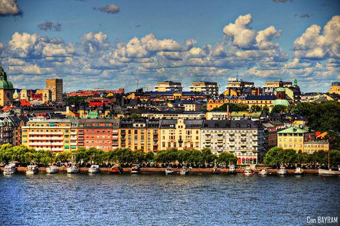 Фото Вид на Stockholm, Sweden / Стокгольм, Швеция, by canbayram