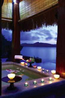 Фото Ужин в хижине на Сейшельских островах