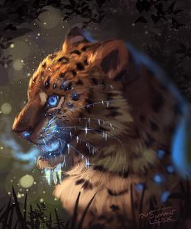 Фото Магический леопард, by Summer-Lynx